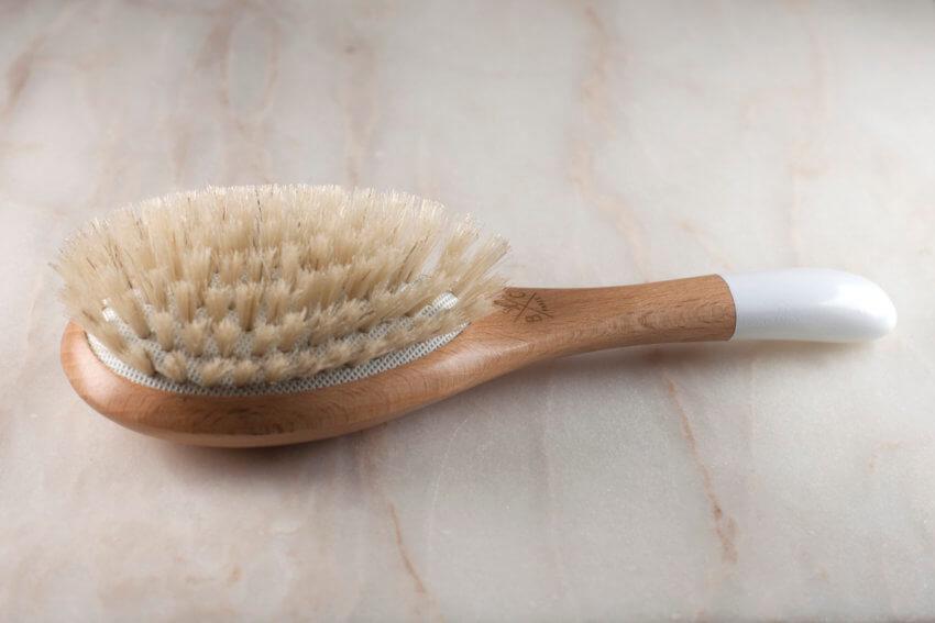 Bachca Baby Hair Brush Boar Bristles