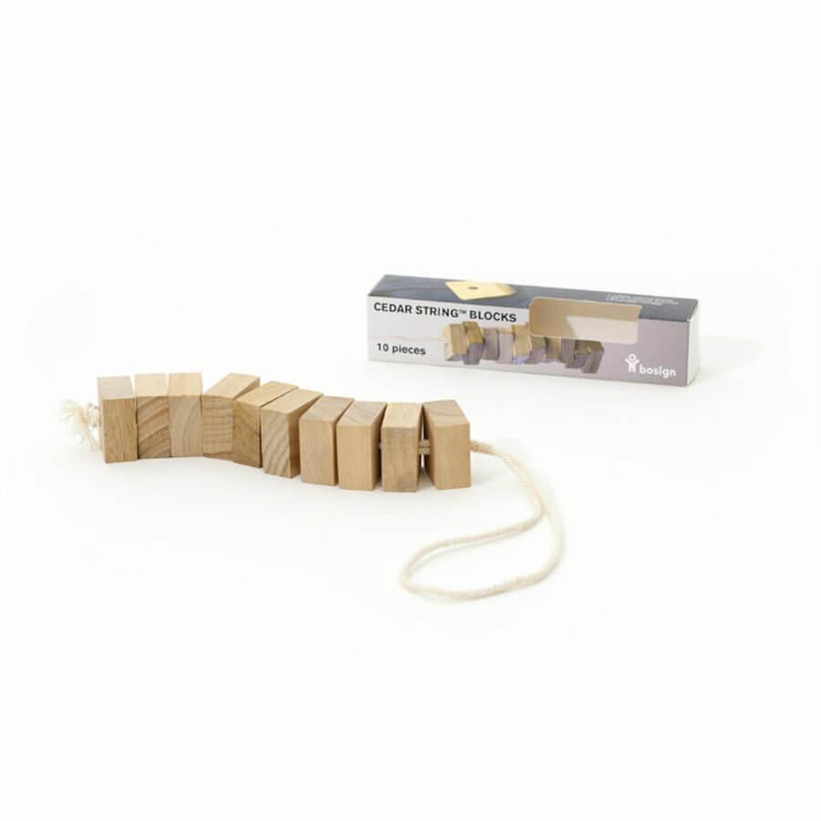 Bosign Freshener Cedar String Blocks Pack of 10