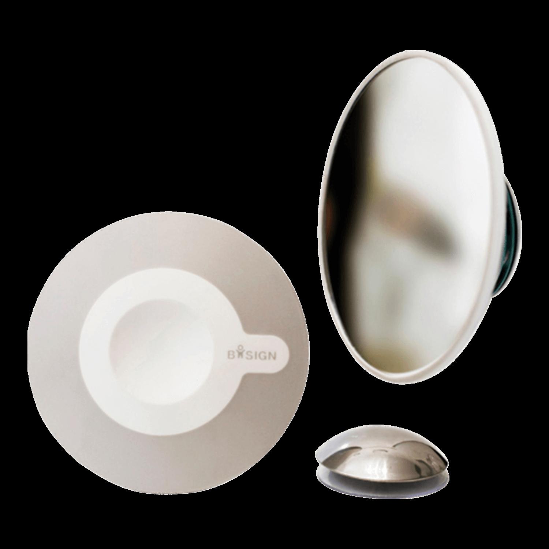 Bosign Detachable Make-up AirMirror 5x Grey