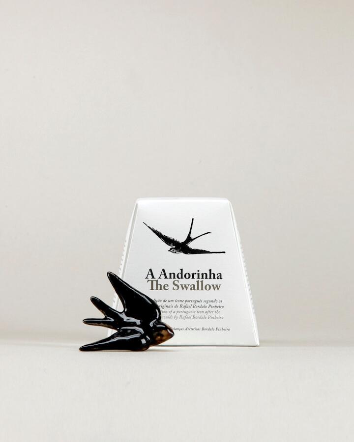 Bordallo Pinheiro Andorinha Small Black