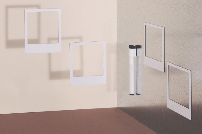 DOIY Polaroid Magnetic Photo Frames Pack of 6