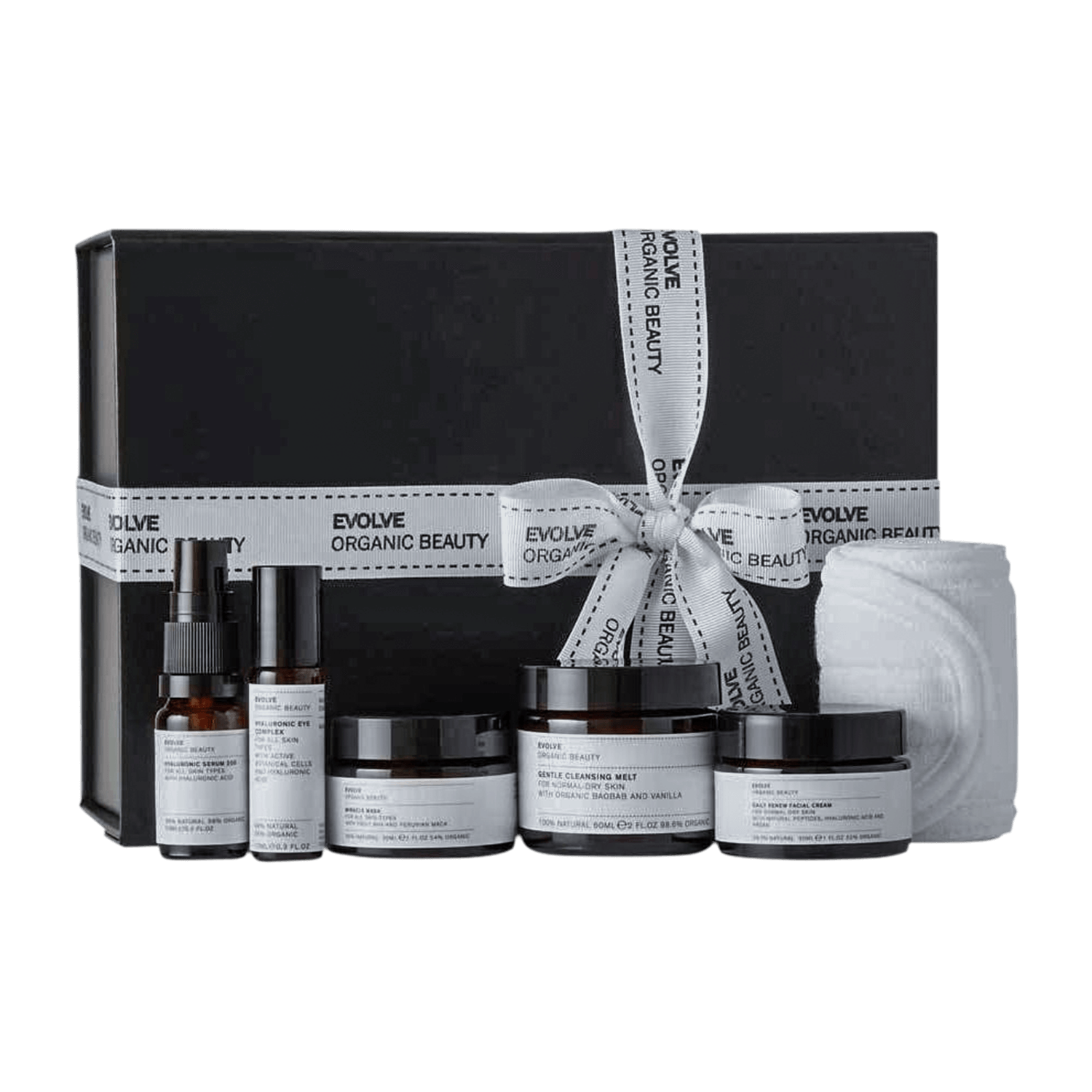 Evolve Beauty Get Up And Glow Facial In a Box Set