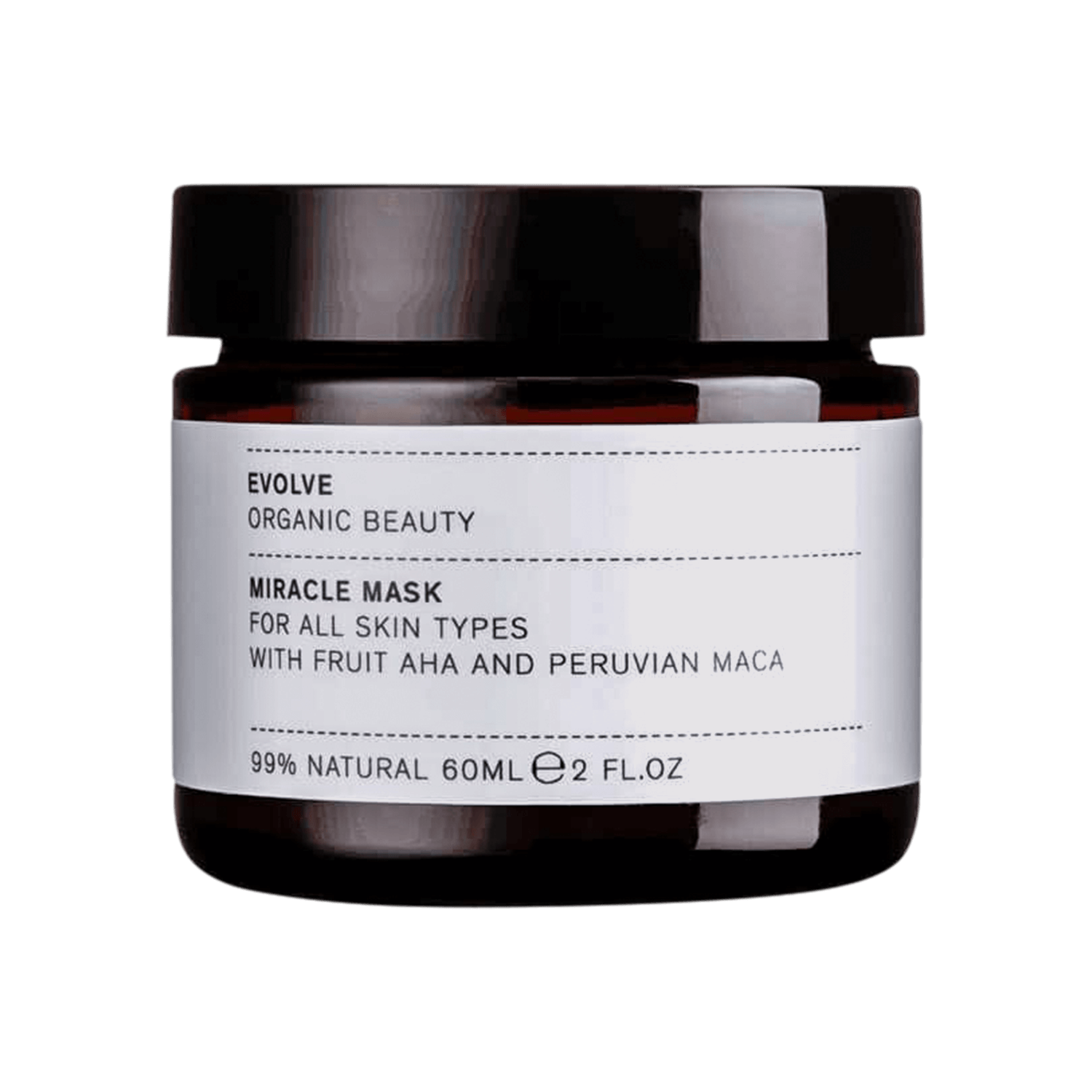 Evolve Beauty Miracle Face Mask 60ml
