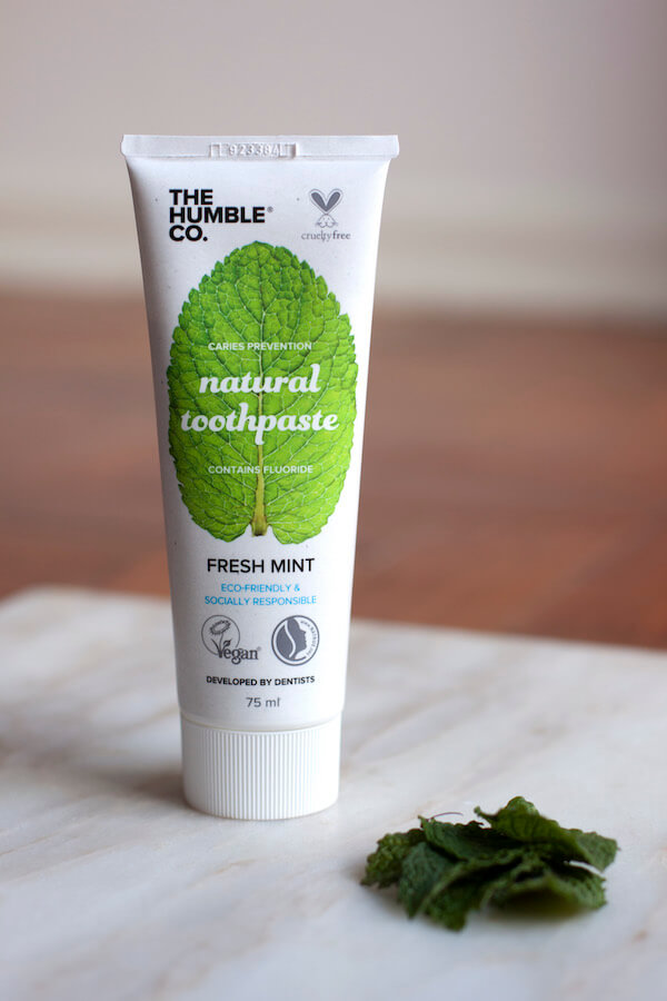 The Humble Co Natural Toothpaste - gf