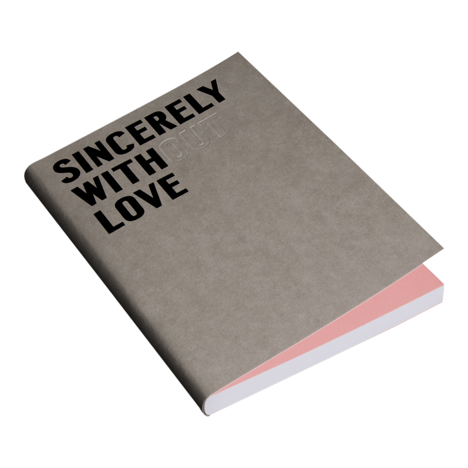 Happily Ever Paper Fill Notebook Sincerely With Love