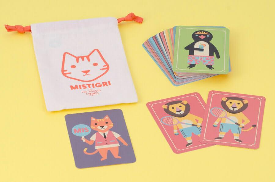 Les Jouets Libres Mistigri Animals Card Game