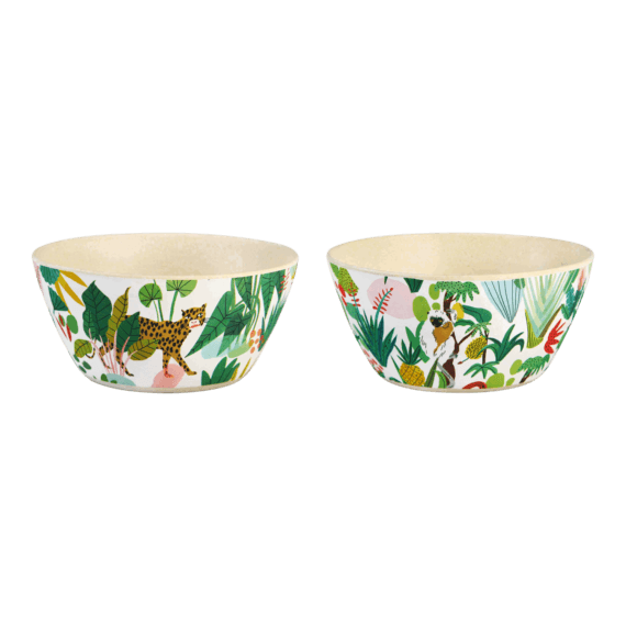 &klevering x Bodil Jane Bamboo Bowls Pack of 2