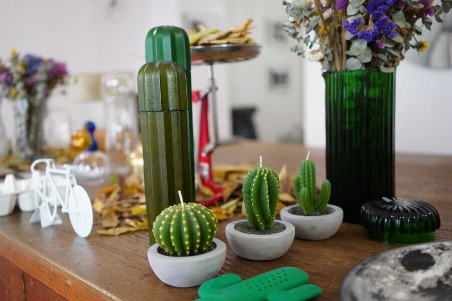 &klevering Cactus Candle