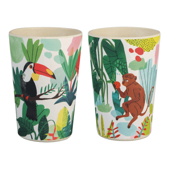 &klevering x Bodil Jane Bamboo Mugs Pack of 2