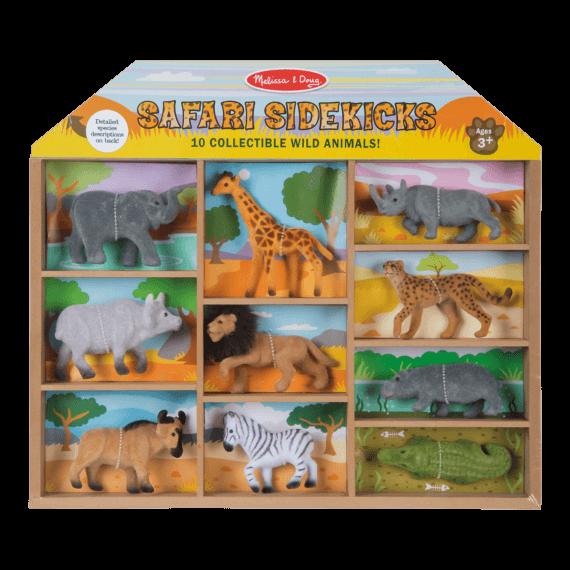 Melissa & Doug Safari Sidekicks Wild Animals