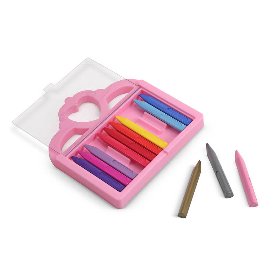 Melissa & Doug Crayon Set Princess