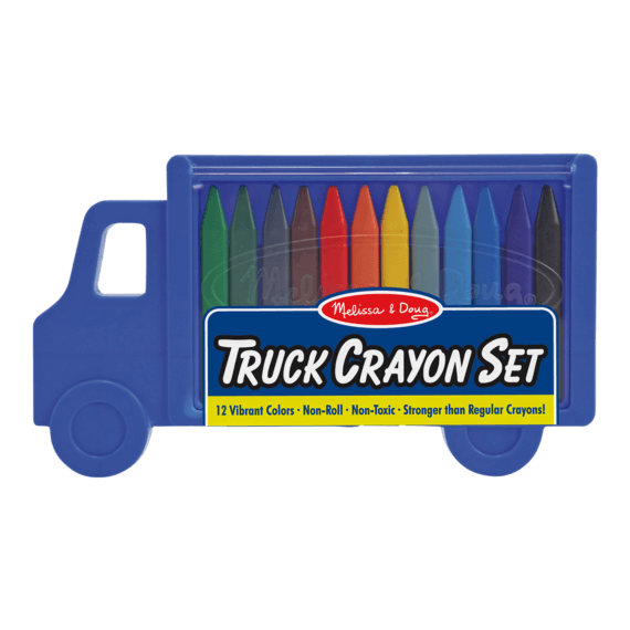 Melissa & Doug Crayon Set Truck