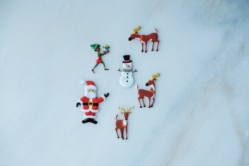 Melissa & Doug Puffy Stickers Play Set Santa Workshop