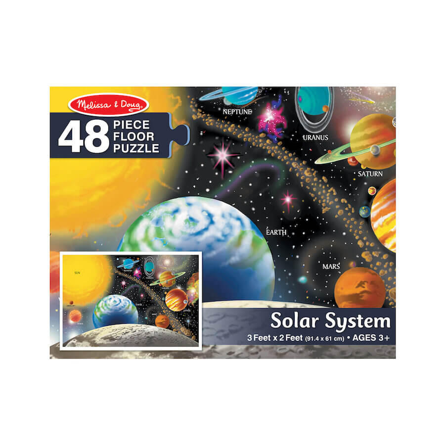 Melissa & Doug Floor Puzzle 48 Pieces Solar System