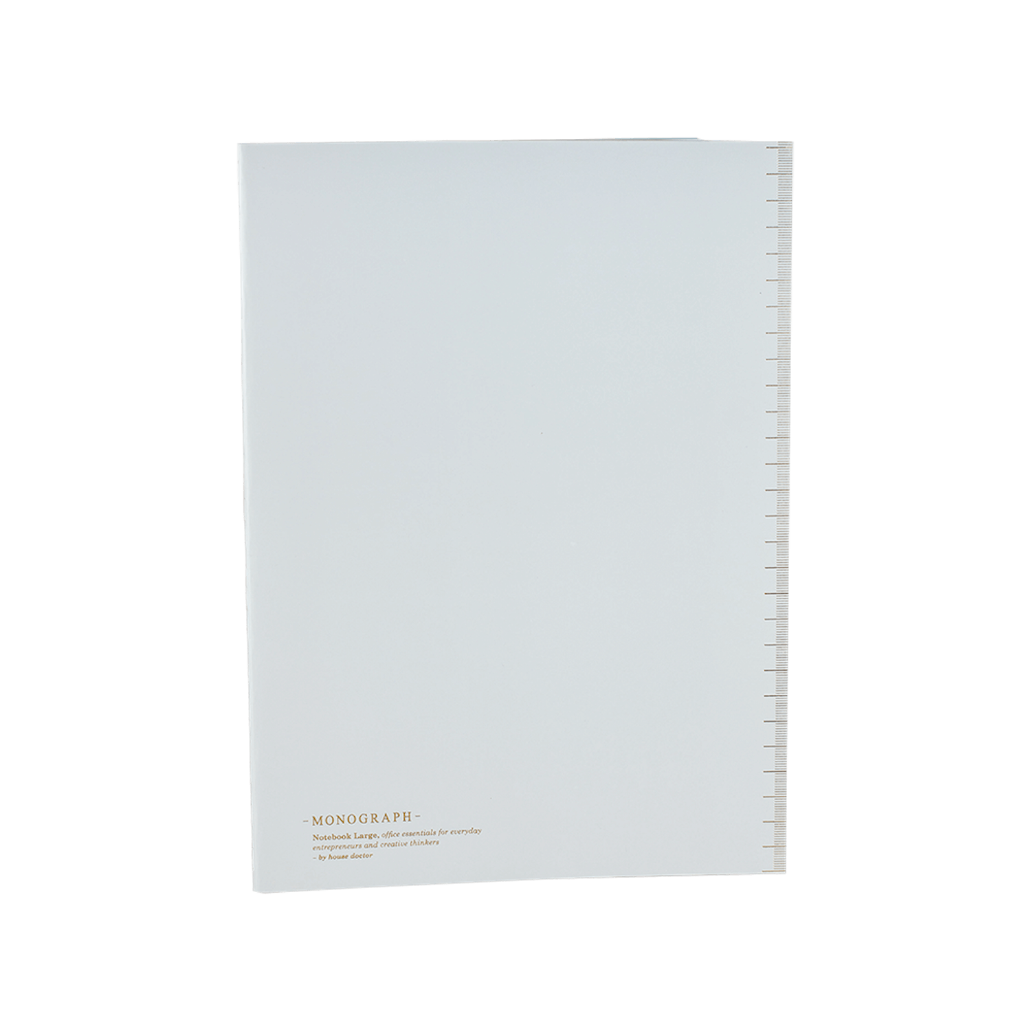 Monograph Notebook Lined Paper A4 Soft Grey