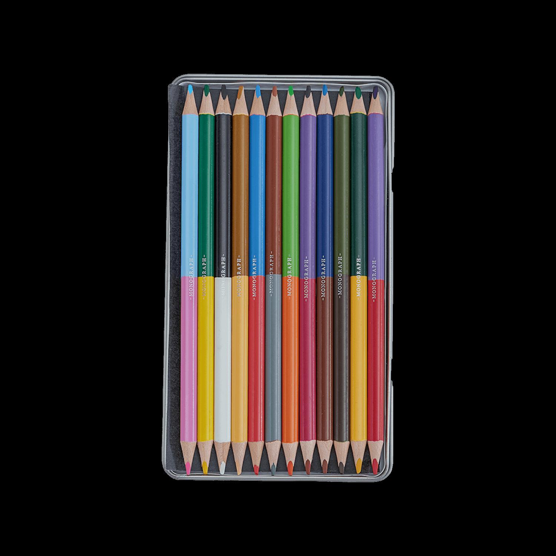Monograph Colour Pencils 12 Colours