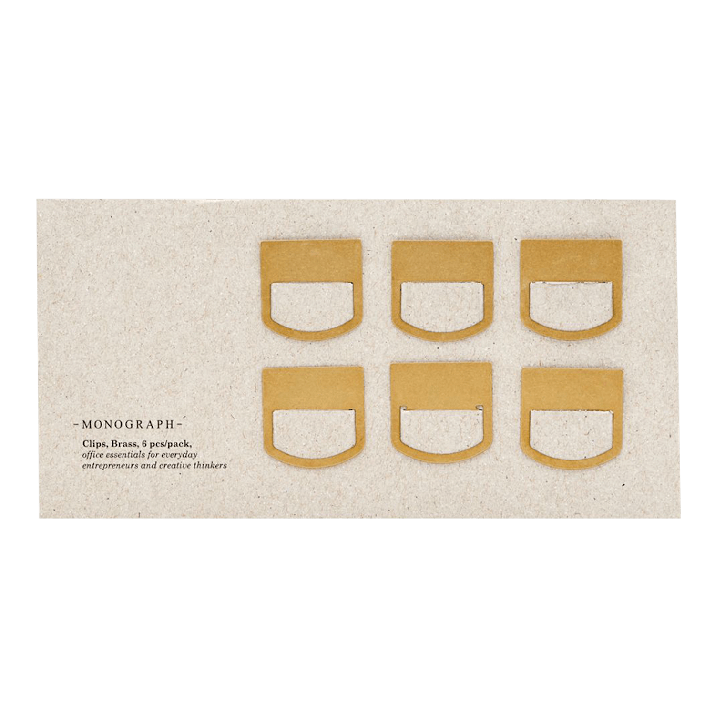 Monograph Clips Brass - ck6.m, ia