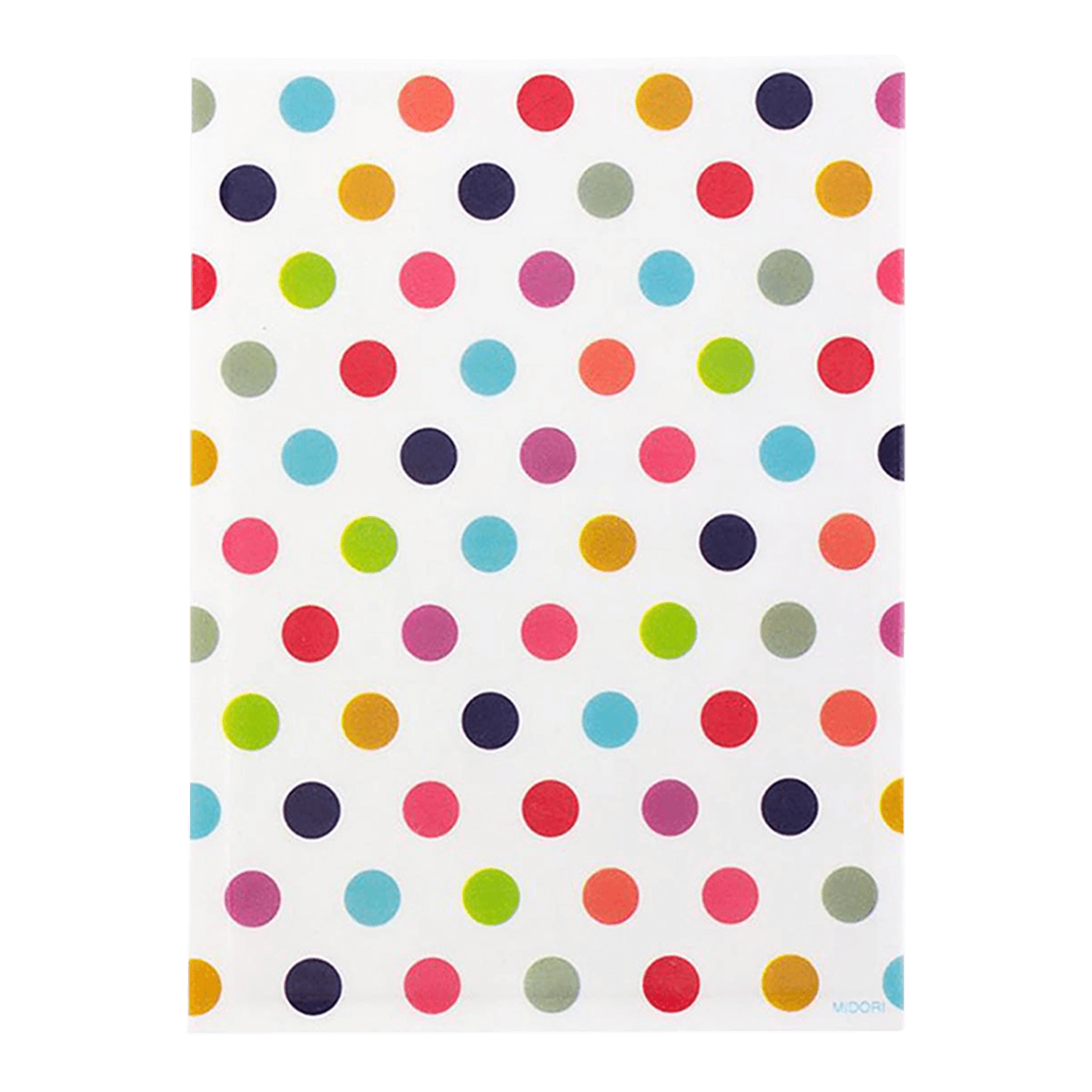 Midori One Side Clear Bag Small Dots