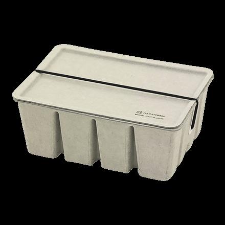 Midori Pulp Storage Card Box White