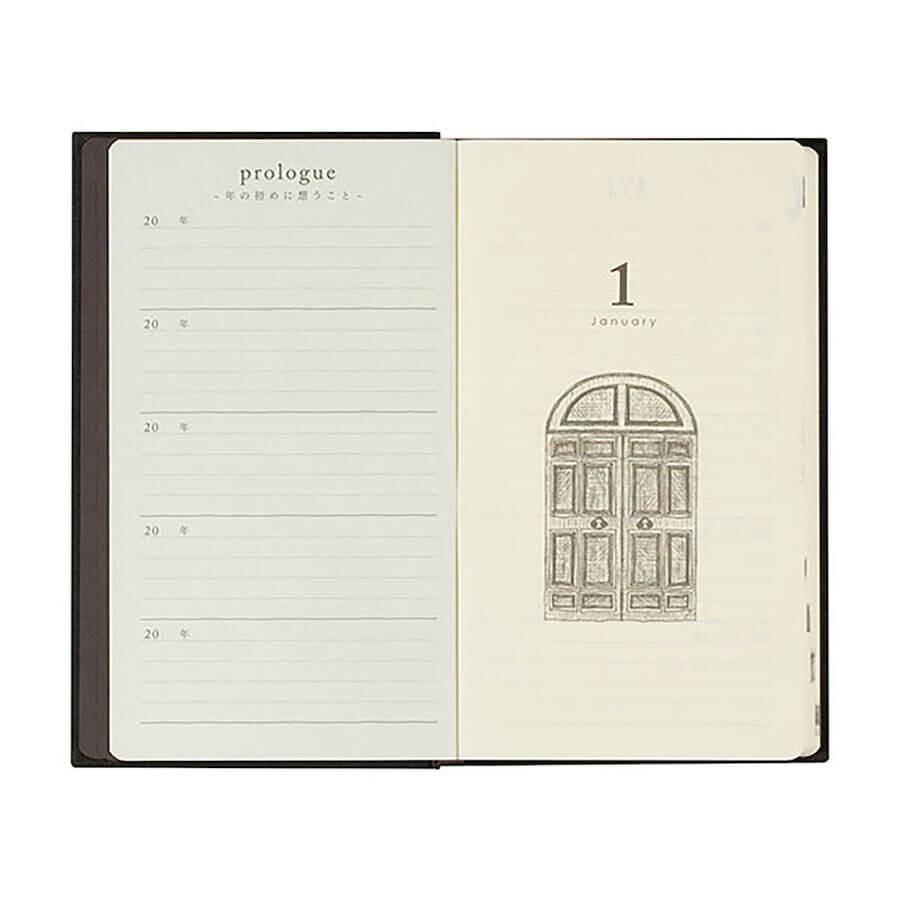 Midori Diary 5 years Gate - a