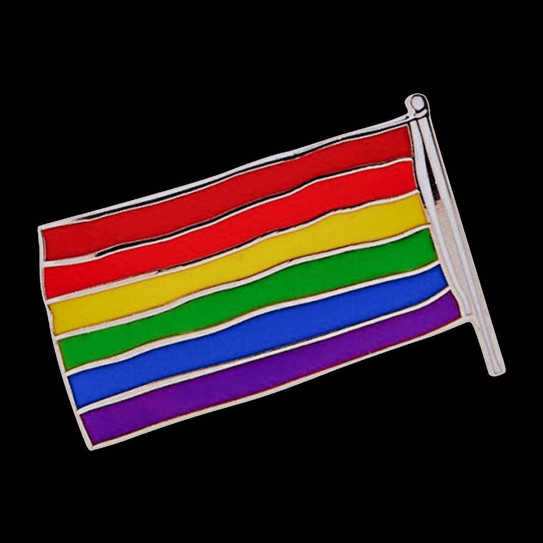 MoMa x Gilbert Baker Rainbow Flag Enamel Pin