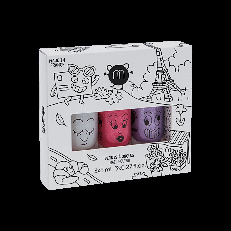 Nailmatic Kids Nail Polish Kit - ss3, zc
