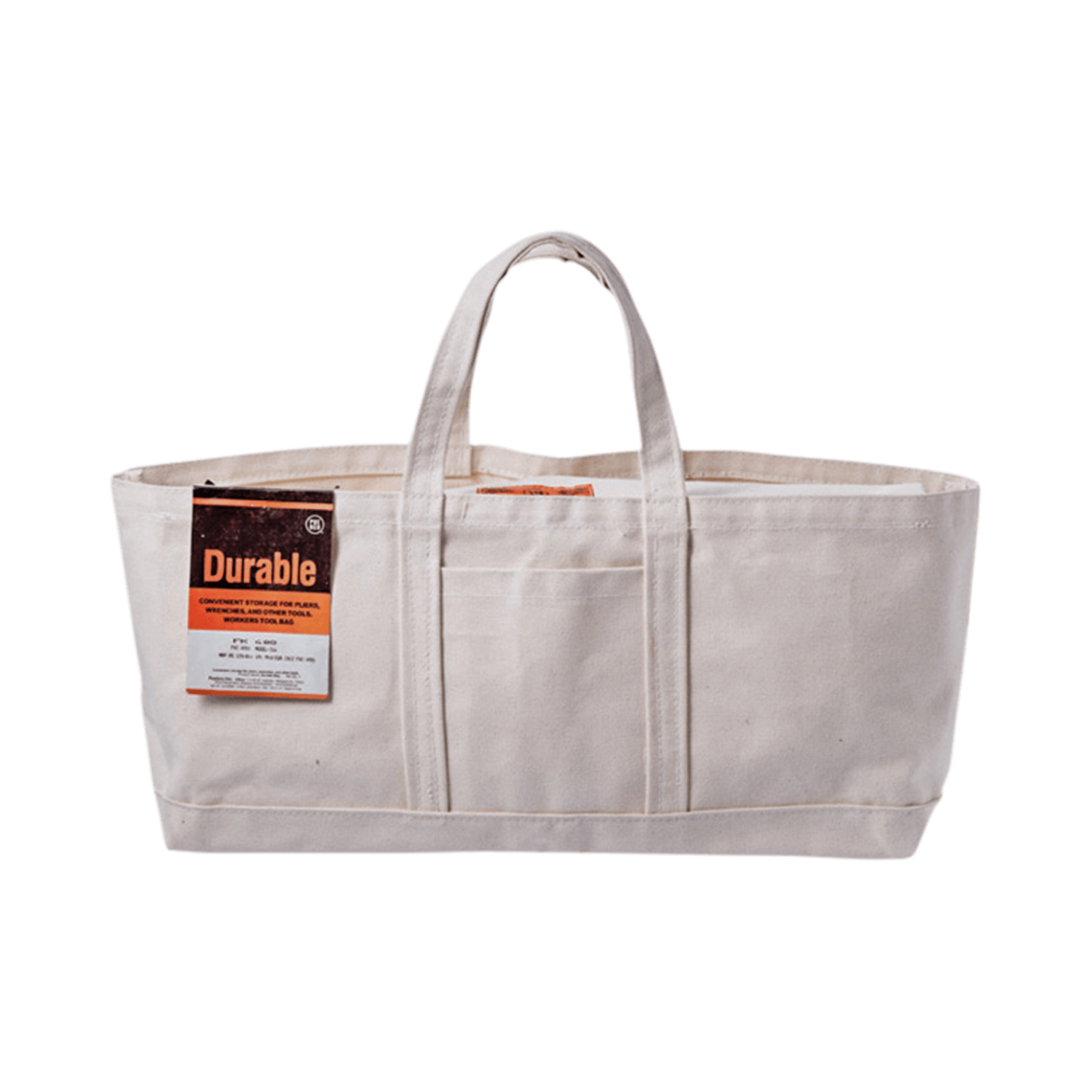Puebco Wide Tool Bag Off White