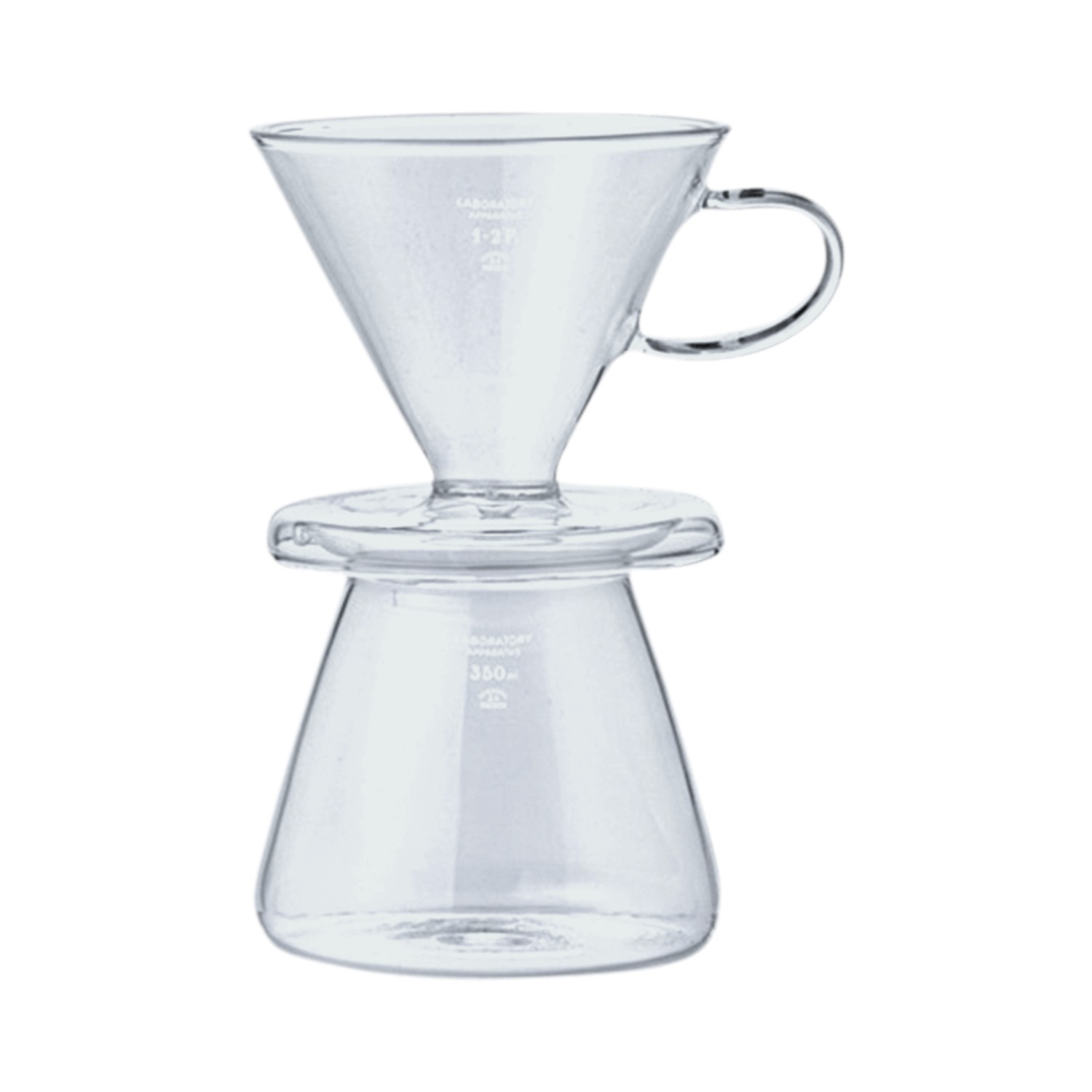 Puebco Glass Coffee Dripper Set