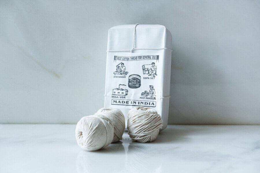 Puebco Cotton Thread White