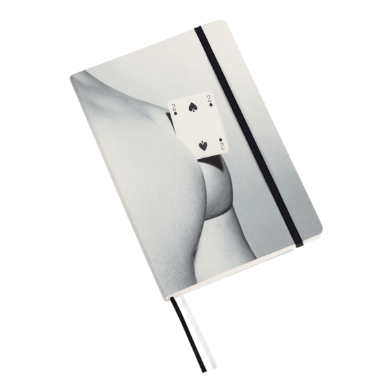 Seletti x Toiletpaper Two of Spades Notebook Big
