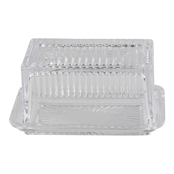 Tala Originals Glass Butter Dish with Cover