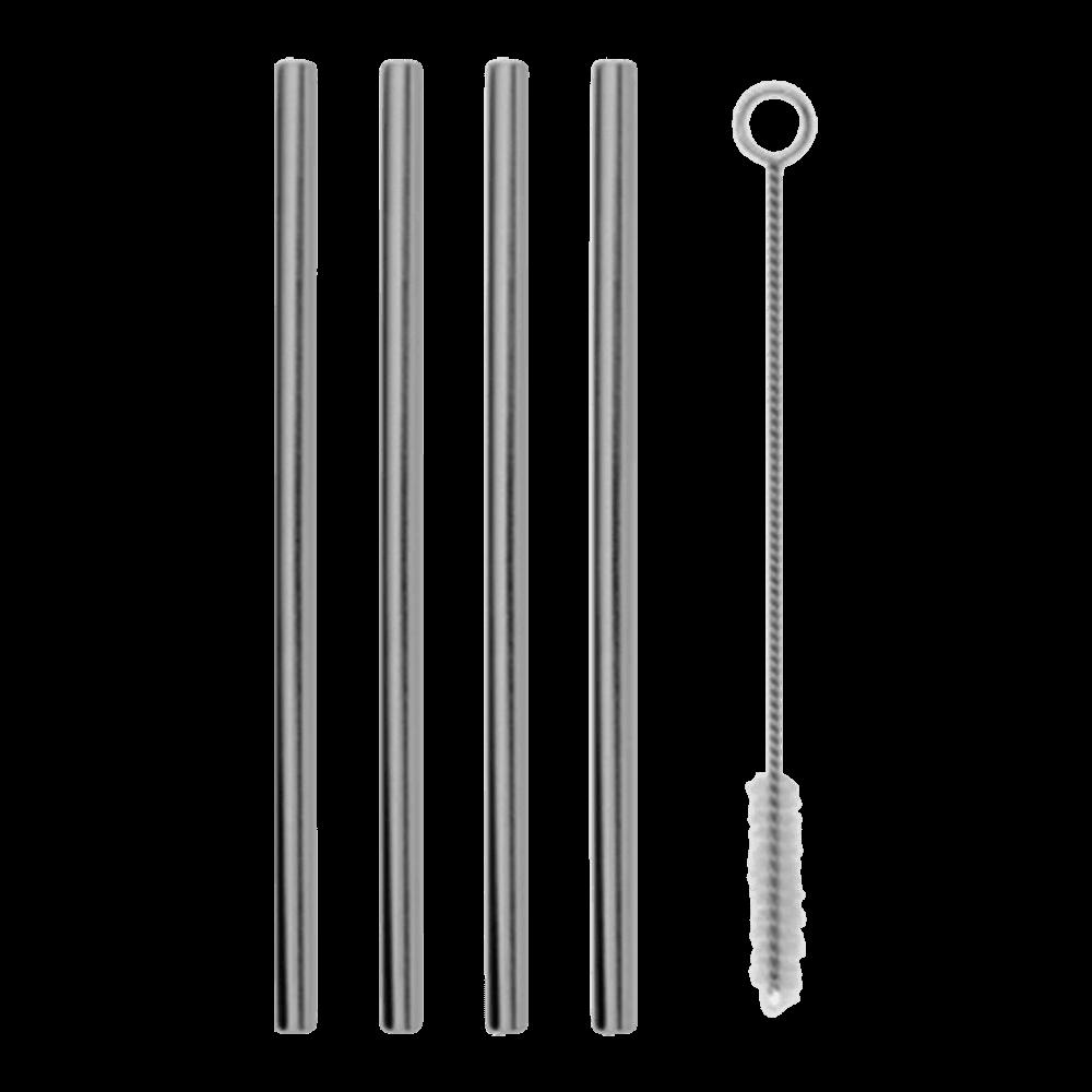 W&P Design Porter Metal Straws - 12cm, ir