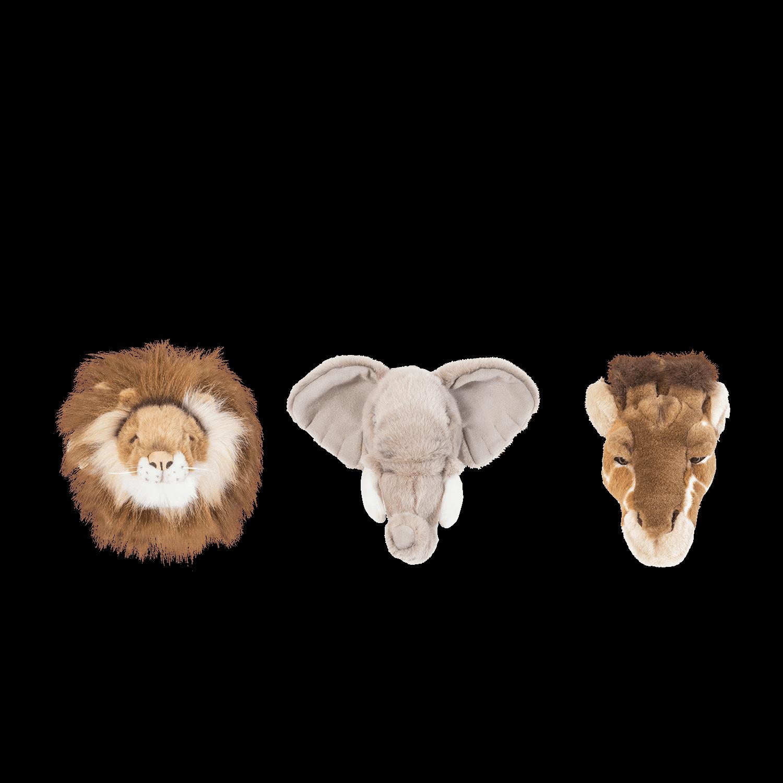 Wild And Soft Small Head Safari Set