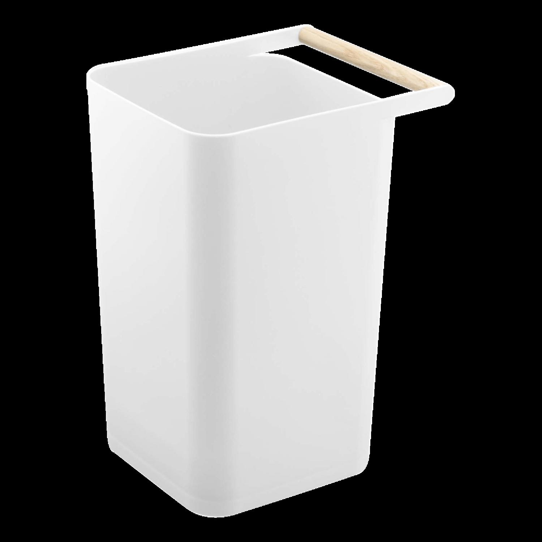 Yamazaki Como Wastebasket White
