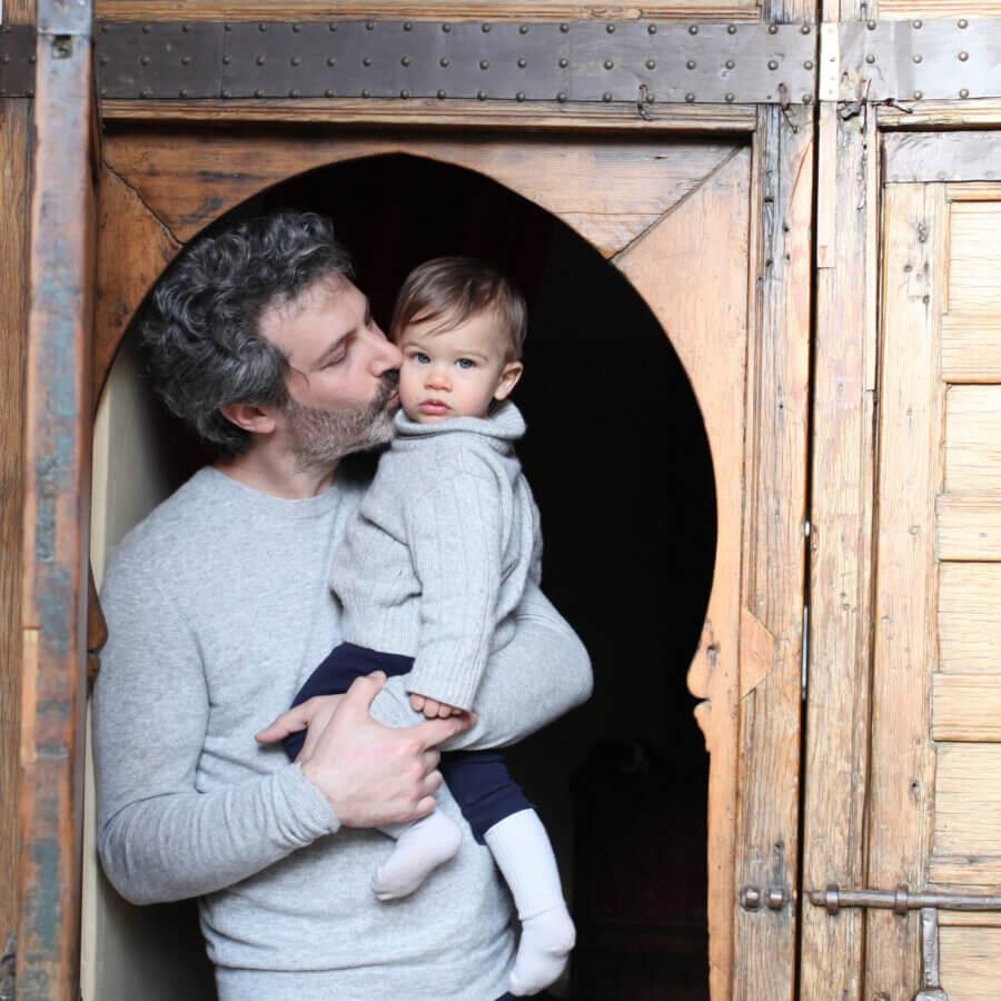 Joaquim and Julien under Easterner vault